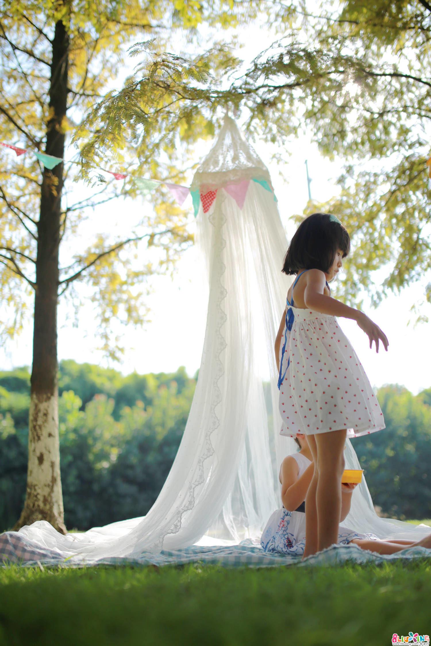 【哎布布】圆顶帐篷!为甜美午后而打造!附闺蜜SHOW