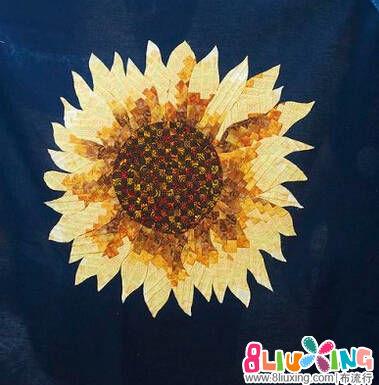 拼布向日葵制作方法