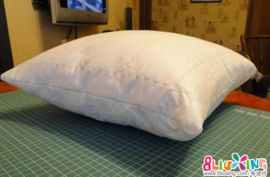 靠垫的芯制作方法