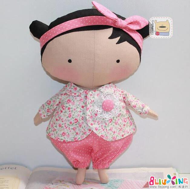 玩偶娃娃制作教程