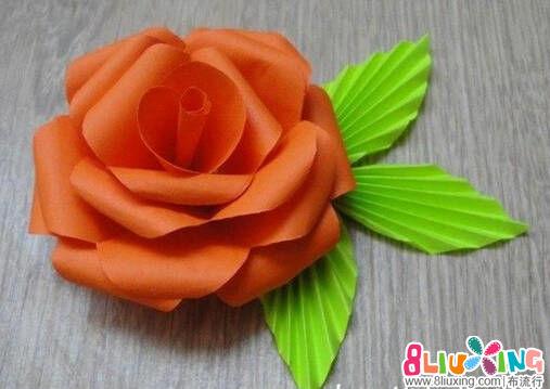 漂亮纸花制作方法