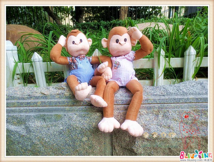 两只猴宝宝问候大家!!