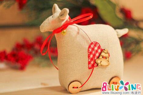 小羊玩偶制作教程