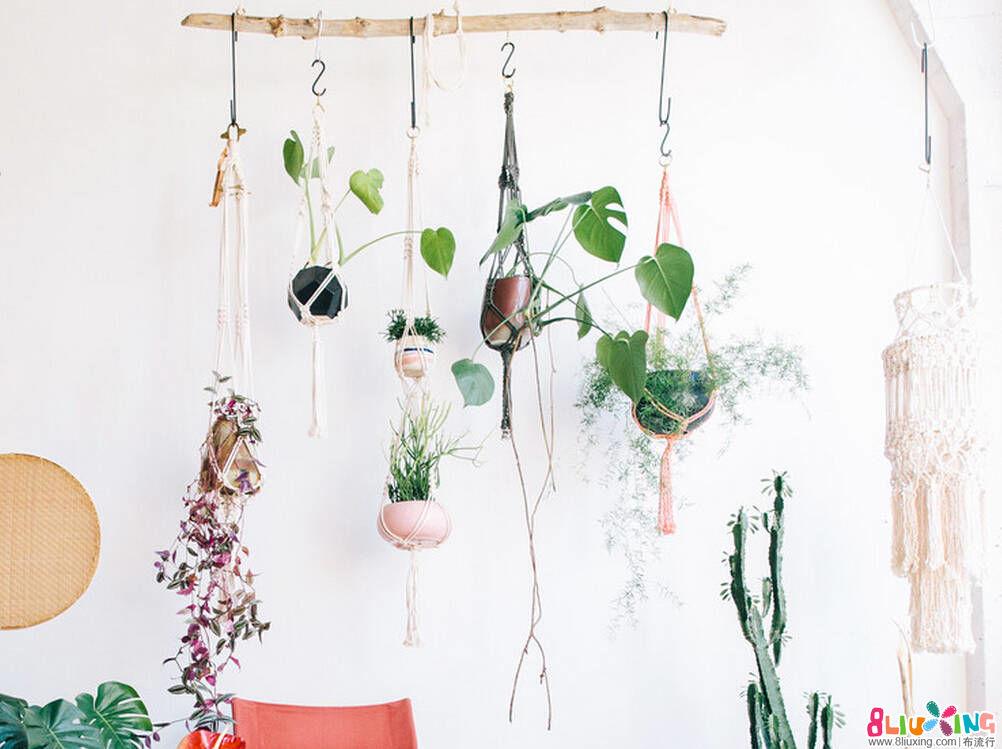花盆吊起来的方法