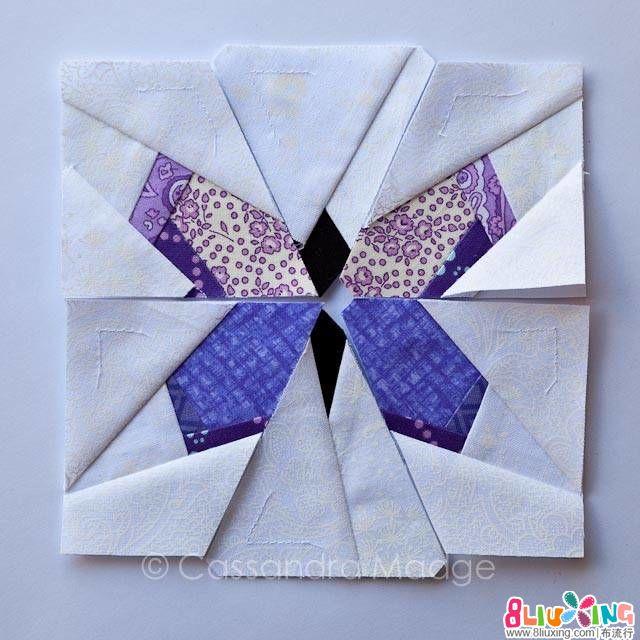 【翻译教程】两用缝纫收纳袋之蝴蝶图案第二部分