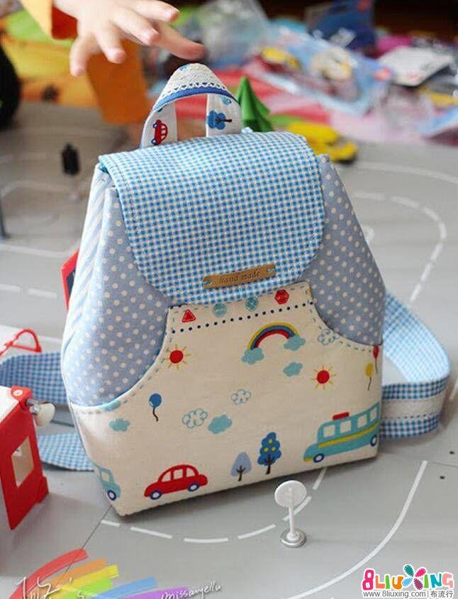 夏日清新小背包制作教程