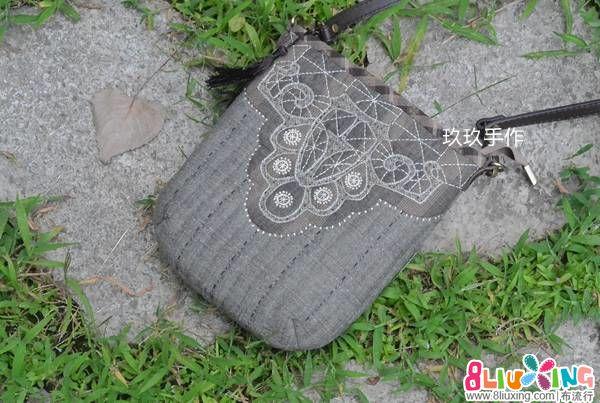 【玖玖手作】木山春代莫拉蕾丝包/斜背包
