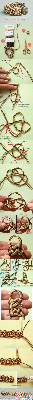 手工编织手链制作教程