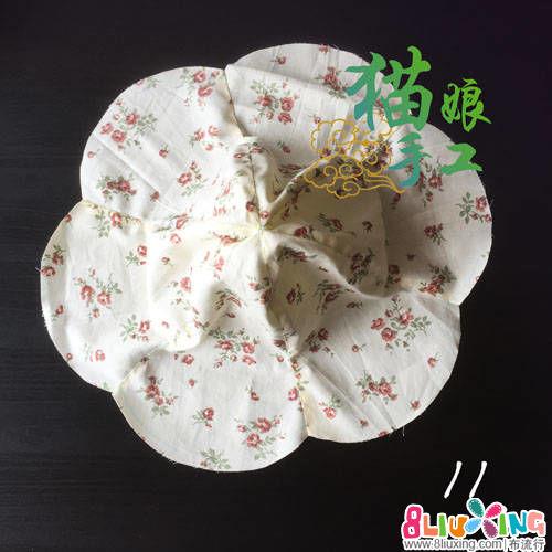 花瓣形双面遮阳帽制作教程(头部测量方法、尺寸画法以及帽子的制作方法)