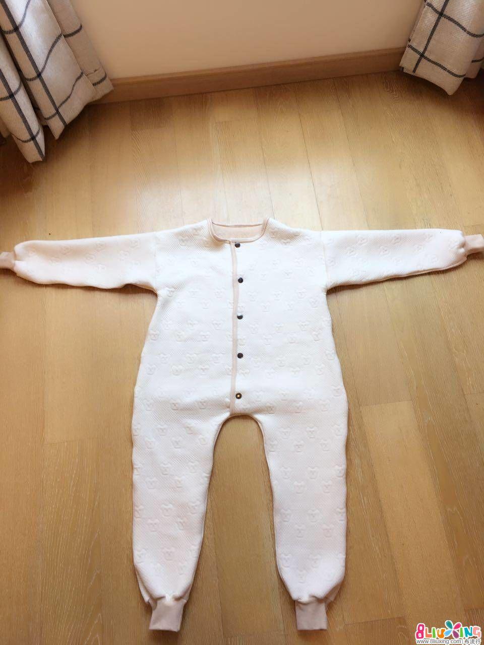 中童大童的连体睡衣,方便入厕版(附制作过程与120cm1:1纸样)