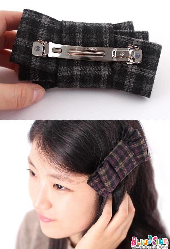 三款韩式发饰巧制作技巧