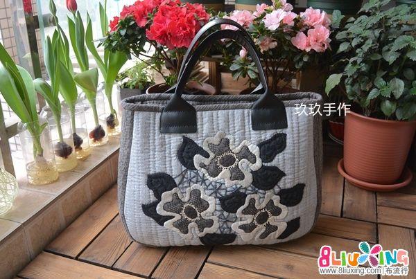 【玖玖手作】木山春代MOLA蕾丝包/手提包
