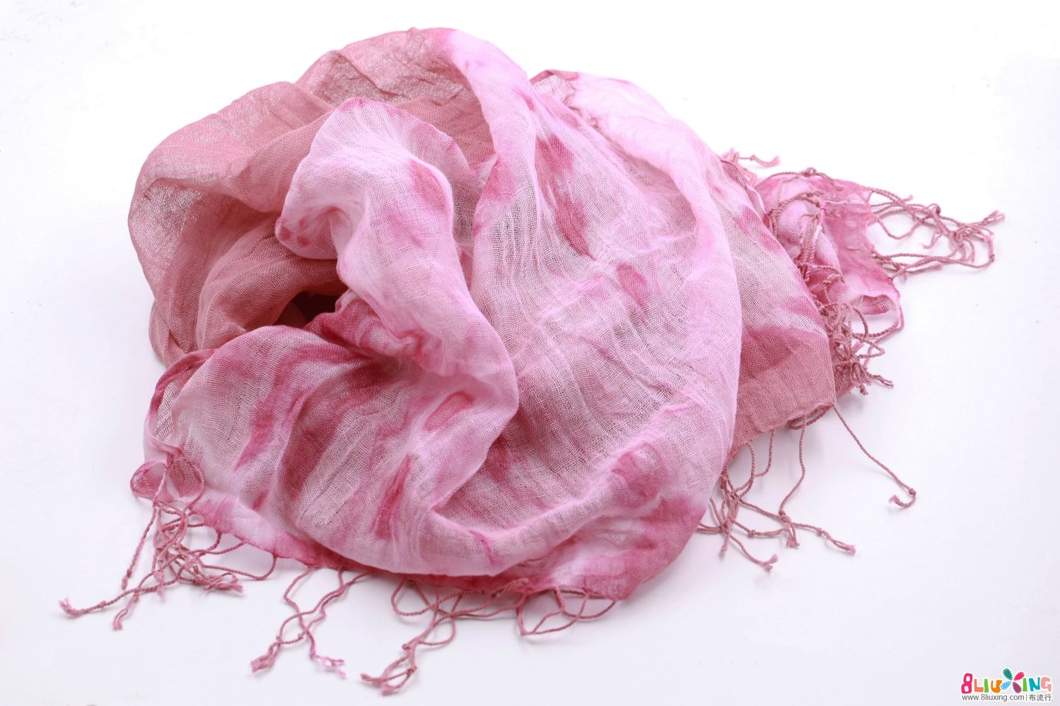 植物染围巾