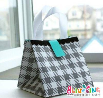纸袋折叠方法