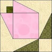 拼布花卉图谱(6):玉兰花 Magnolia