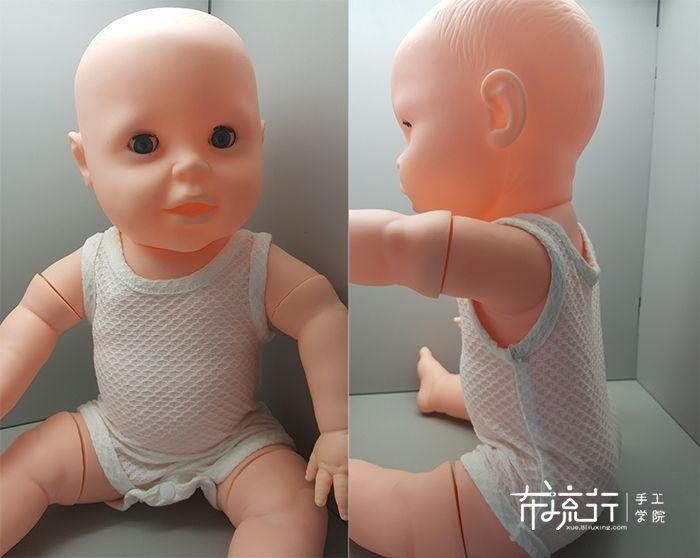 学做婴儿衣服背心和吊带衫
