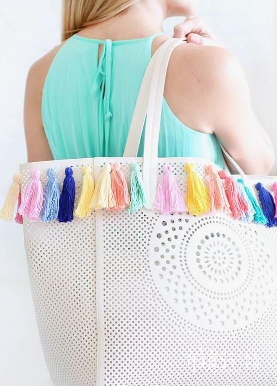 包包上的穗子制作