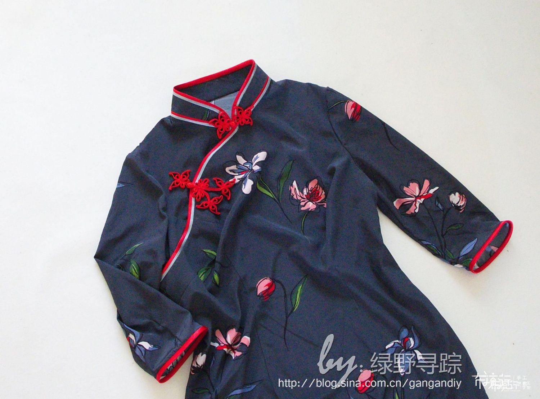(老绿手工)改良旗袍及中式罩衫