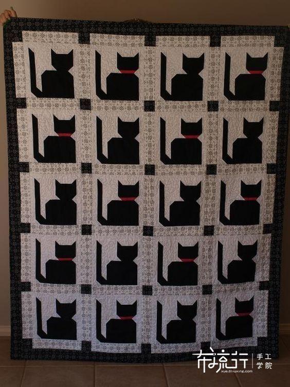 拼布动物图谱:猫 2 (Cat 2)