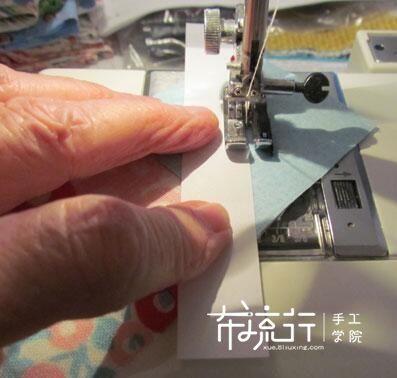 如何将直线车缝的笔直,一张白纸帮你。
