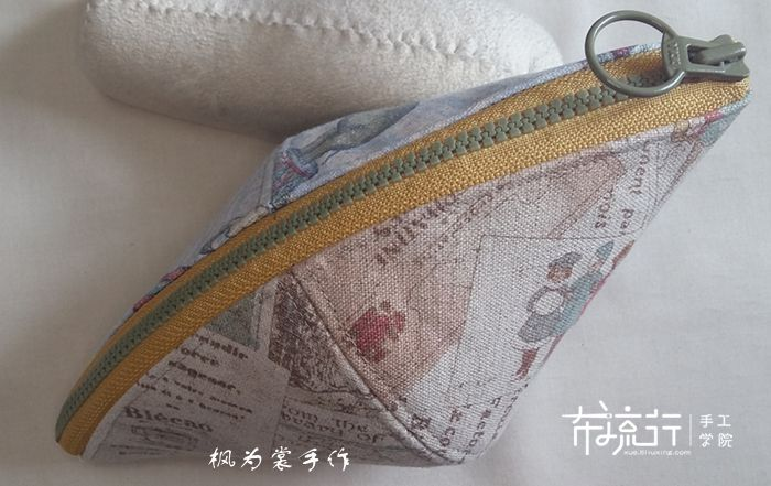 日本花棉麻包制作教程