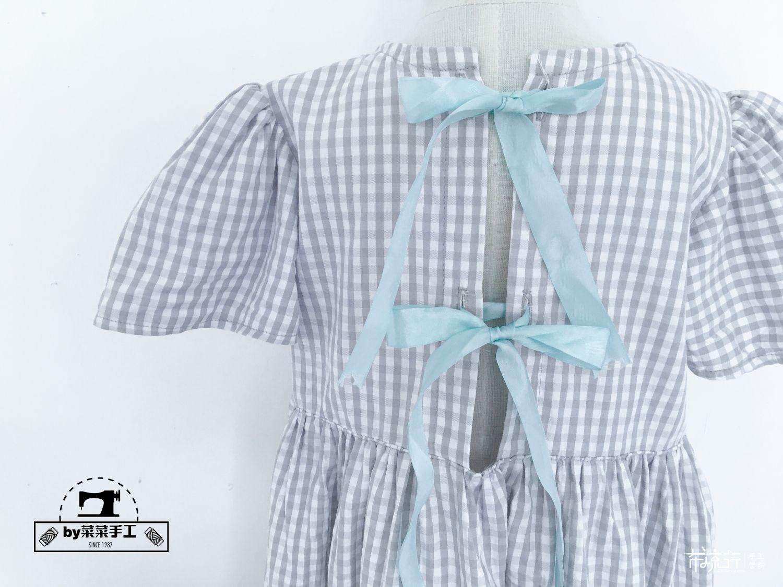 【菜菜手工】不规则裙衫---附教程