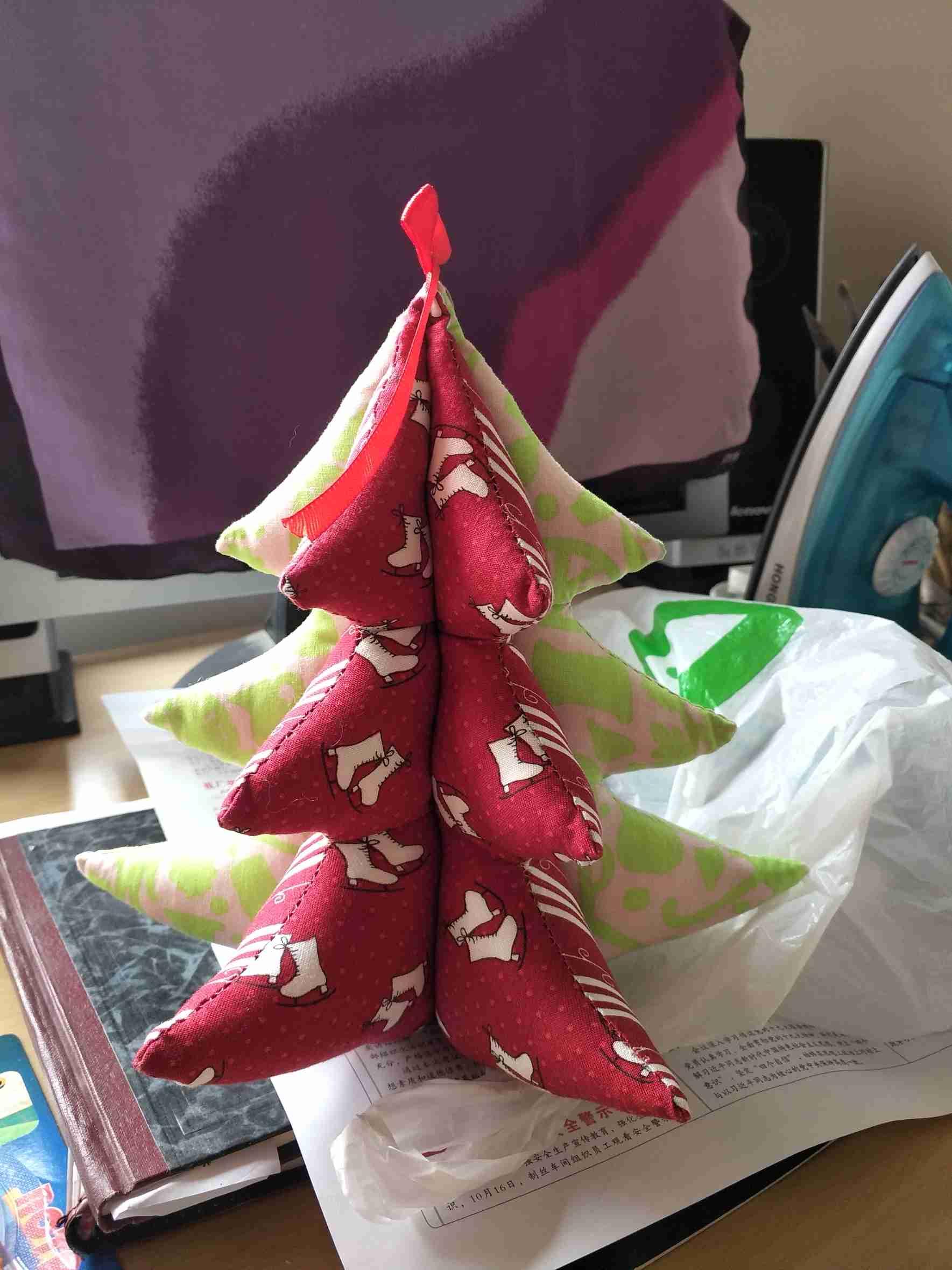 布艺圣诞树