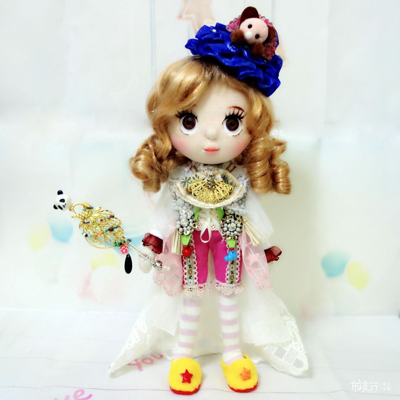 [Diane手作]原创手工立体娃娃——归蝶