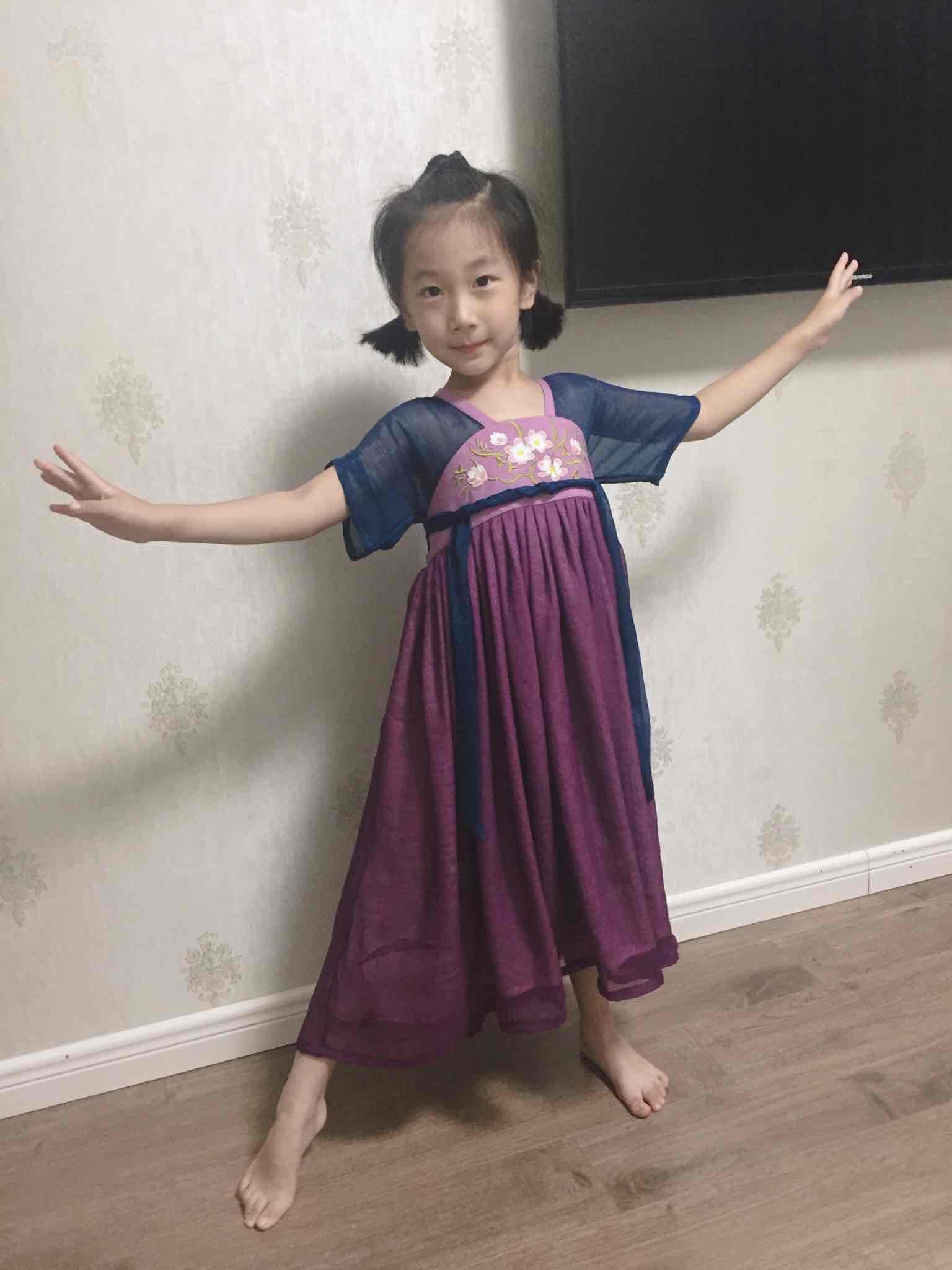 儿童短袖汉服