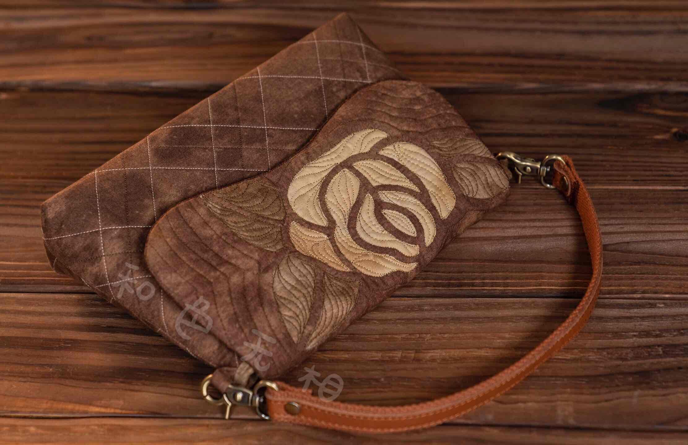 夏威夷拼布手提包