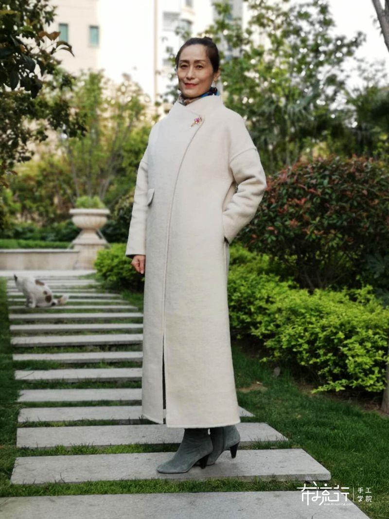 趁着天没热,再来一件双面呢大衣