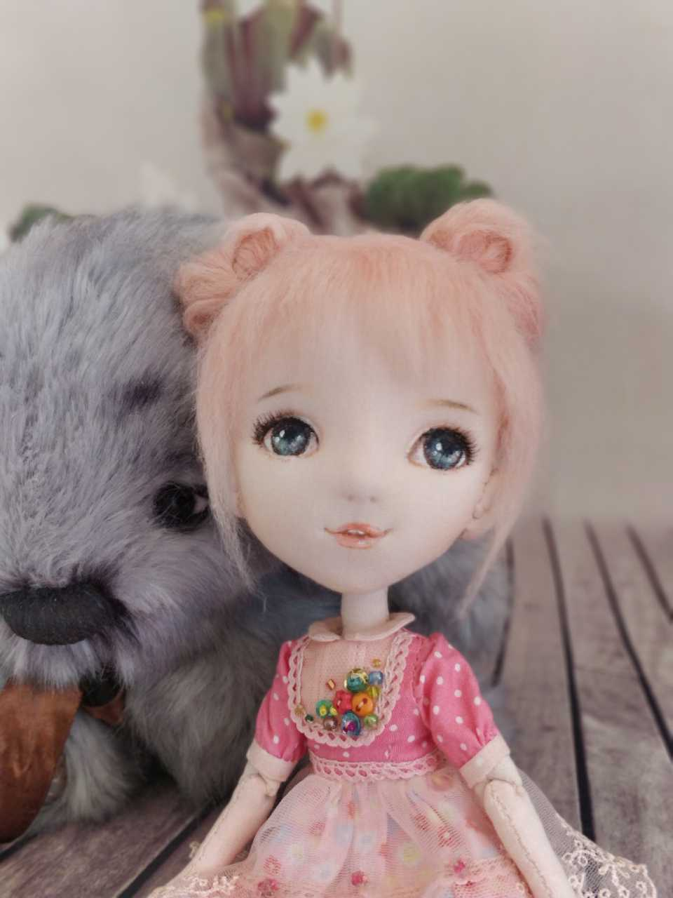 沐莲——水灵灵的关节布娃娃