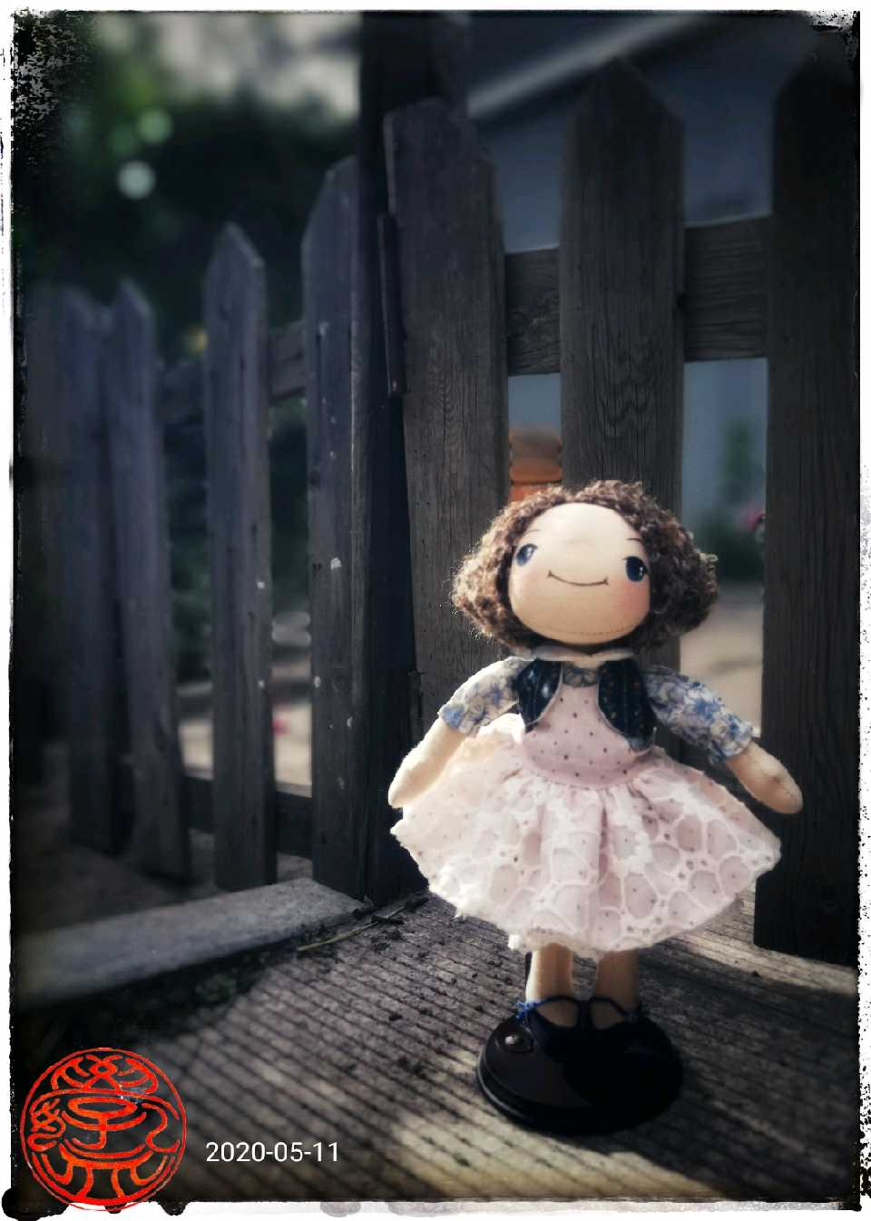 和沐莲老师学乡村娃娃