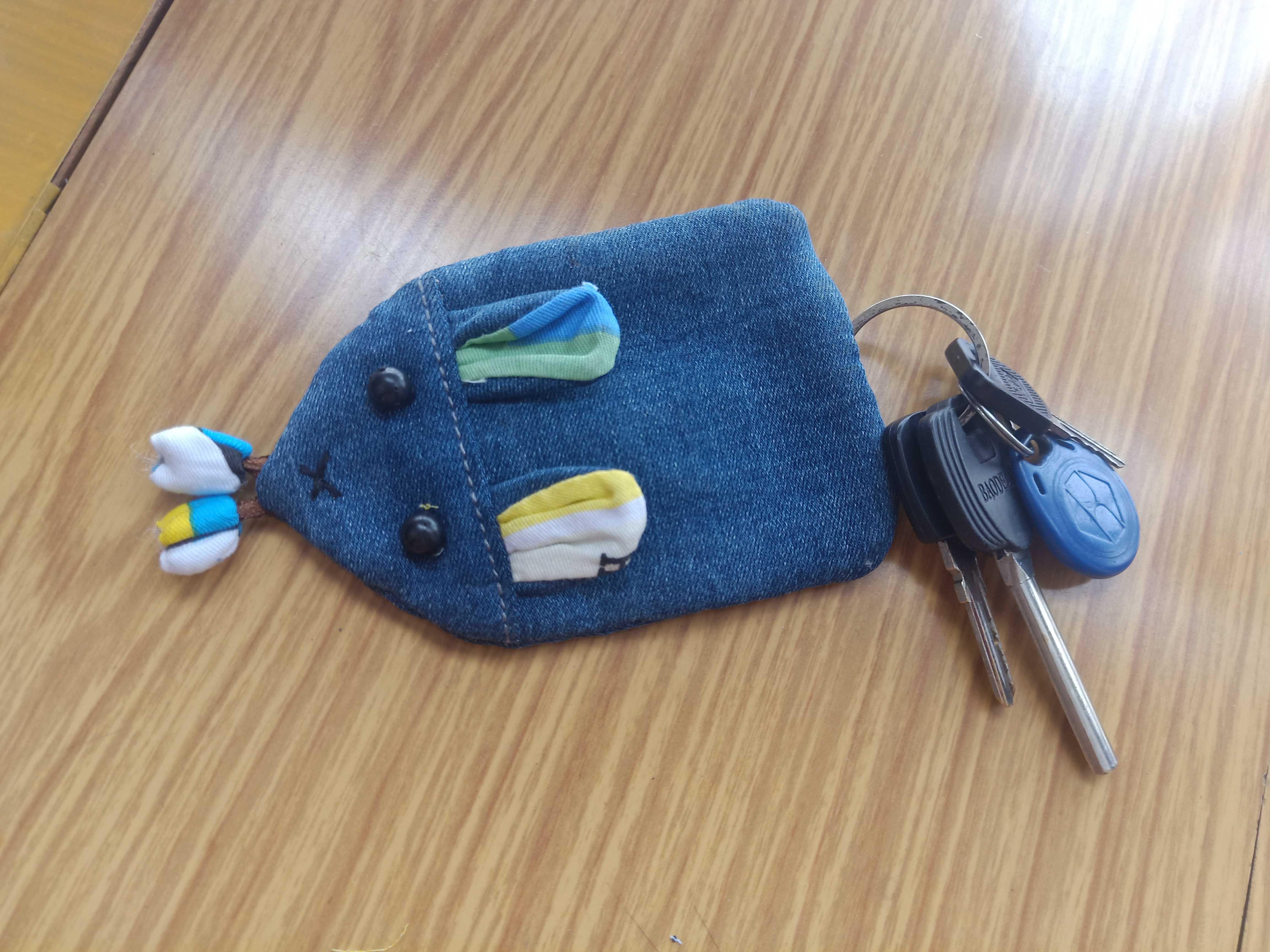 小老鼠钥匙包制作教程