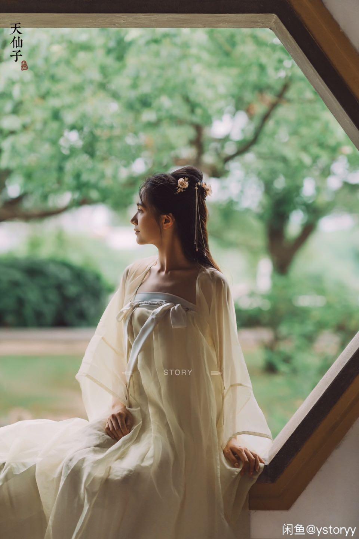 唐风襦裙大袖衫