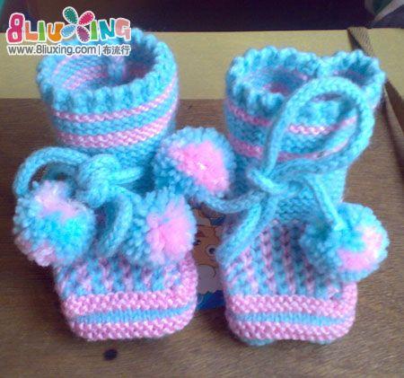 毛线宝宝鞋的织法_怎么用毛线织婴儿鞋 怎么用毛线织宝宝鞋