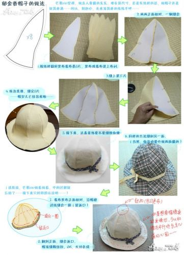 郁金香帽子教程