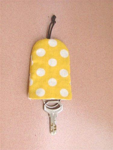 新手必学&只需手缝—钥匙袋