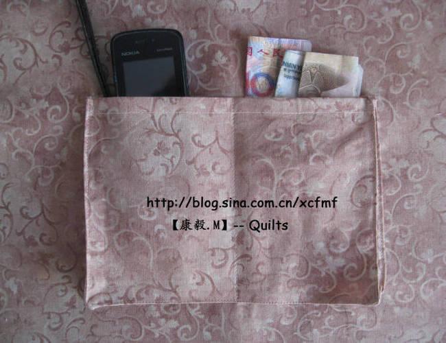 拼布包包立体贴袋制作