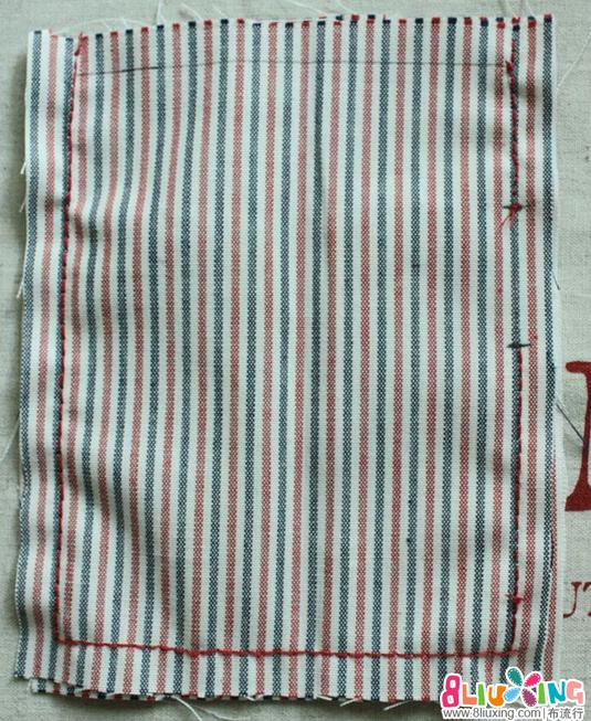 [转载]简单拼布收口袋制作方法