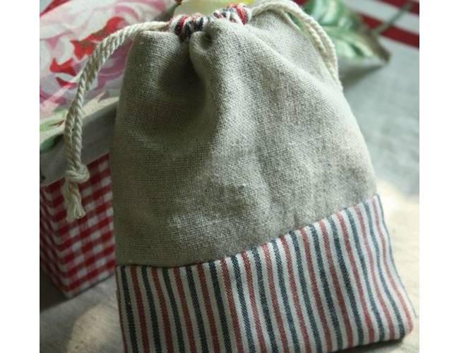 简单拼布收口袋制作方法