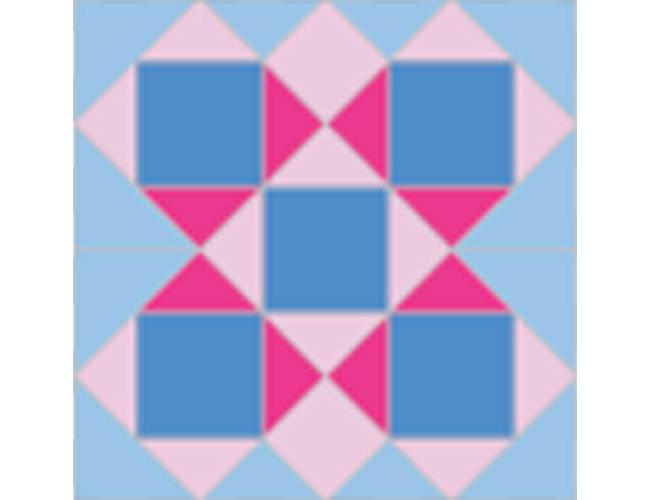 【拼布图谱】菲儿拉得式广场