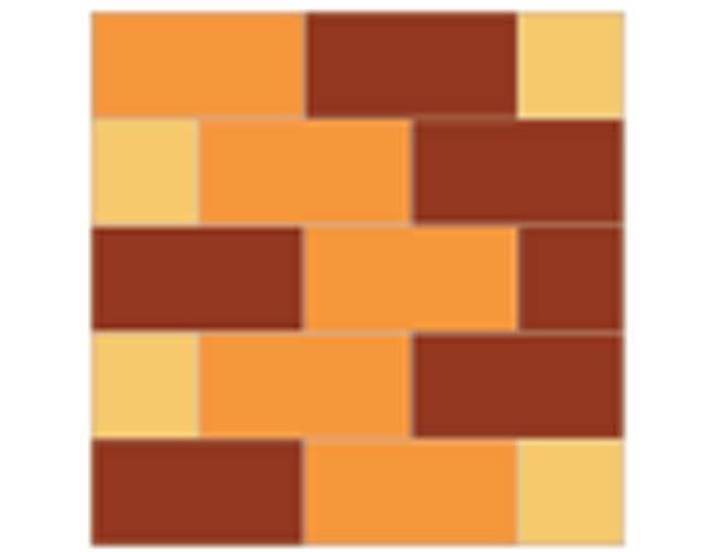[拼布图谱]砖壁