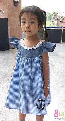布衣老师巨详细的儿童连衣裙教程