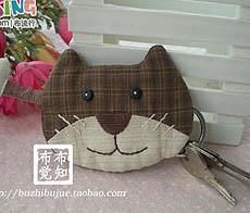 小猫钓鱼钥匙包教程