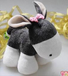 可爱的小毛驴
