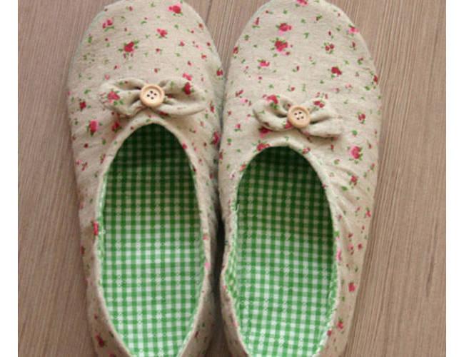 室内舒适手工鞋制作过程