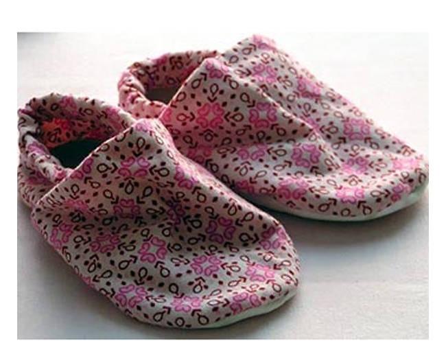 我搜集的宝宝鞋(带纸样)