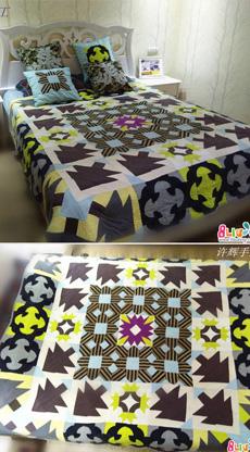 我的大床盖--森林漫步