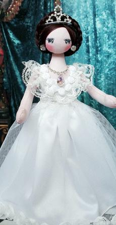 小雪飞花手作之公主韩娃